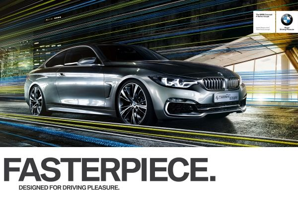 "BMW - ""DESIGNED FOR DRIVING PLEASURE""."
