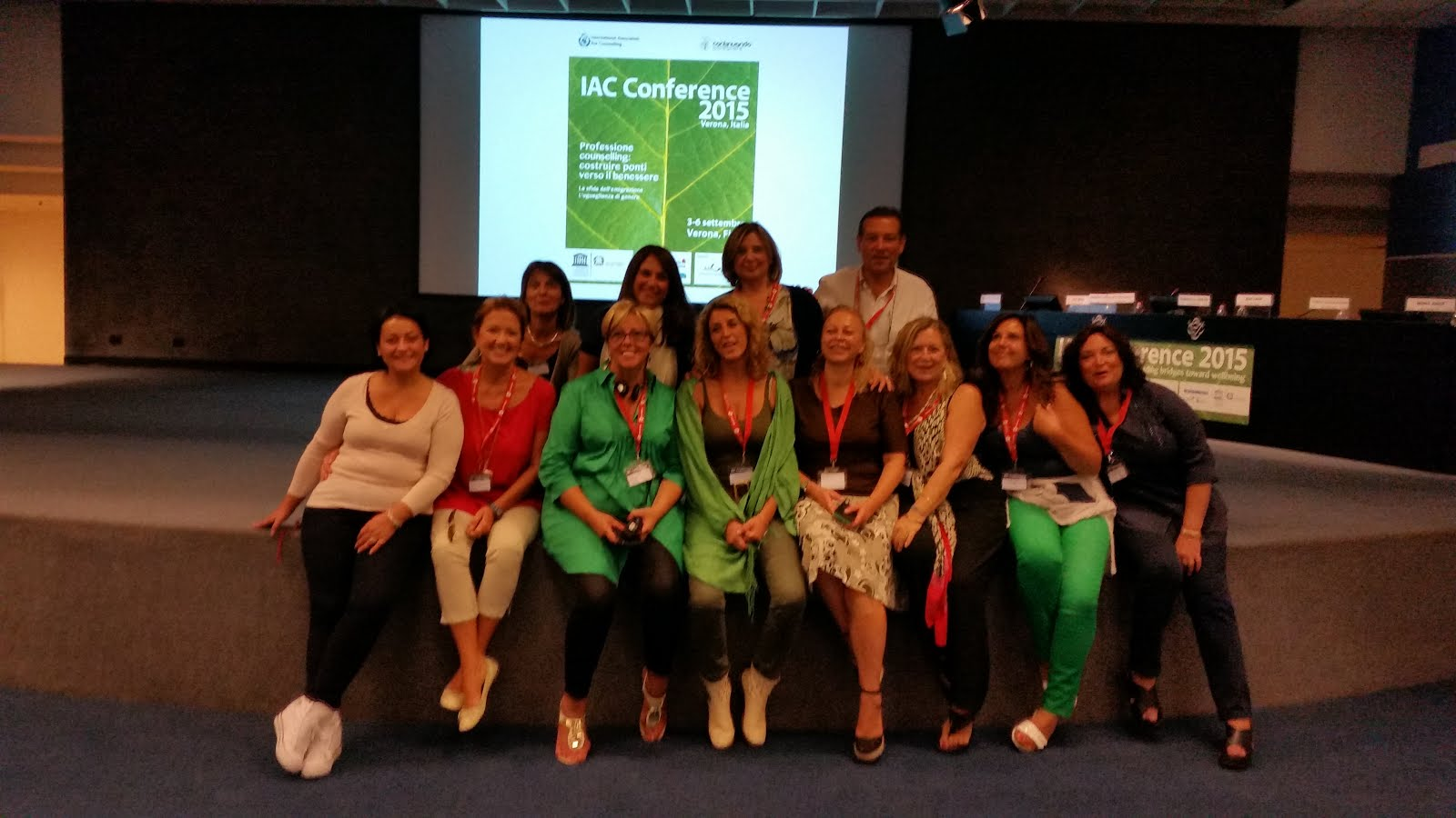 IAC CONFERENZA VERONA 2015  International Association for Counselling