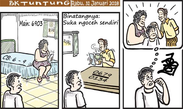 Prediksi Gambar Pak Tuntung Rabu 31 01 2018