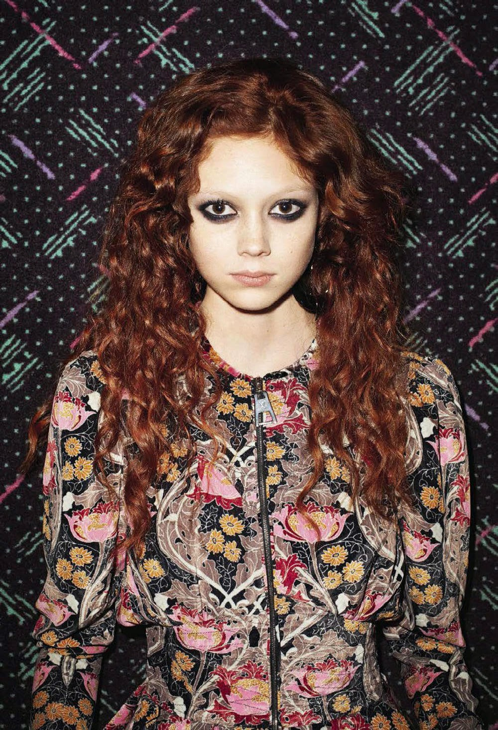 Model @ Natalie Westling by Terry Richardson for Vogue Italia, March 2015