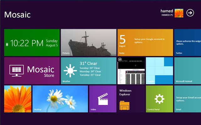 Windows 7 transformation pack 8style