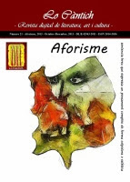 Lo Càntich - Número 21 - Aforisme, 2013