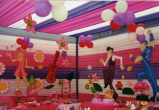 Children Parties, Lazy Town Decoration