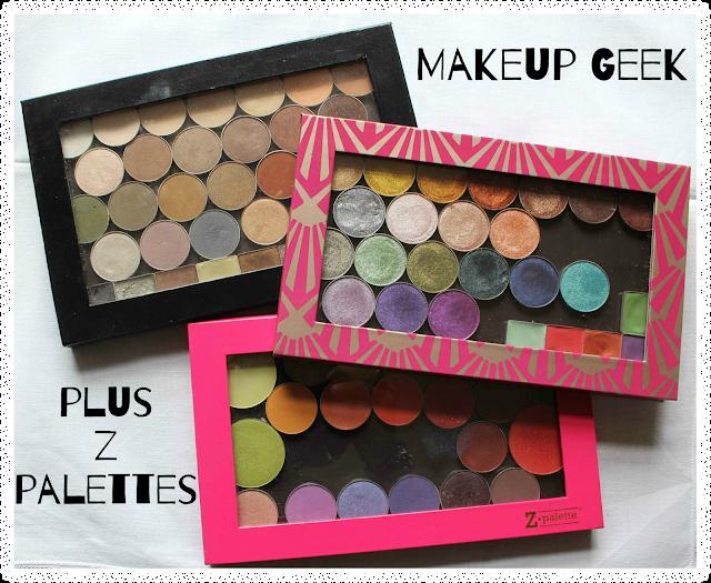Makeup Geek plus Z Palettes