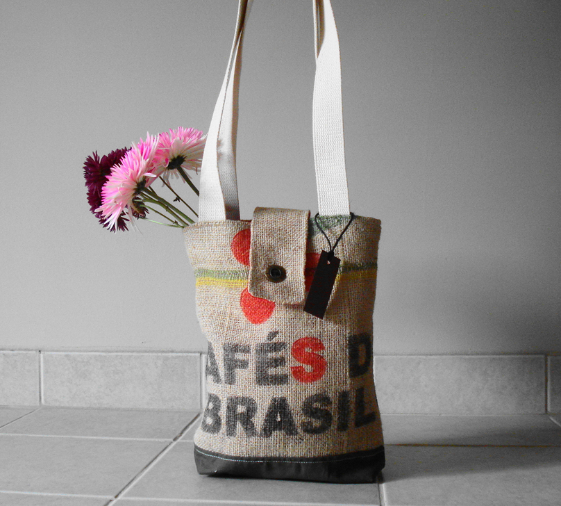 Brazil Tote - Grounds Collection - Lina and Vi