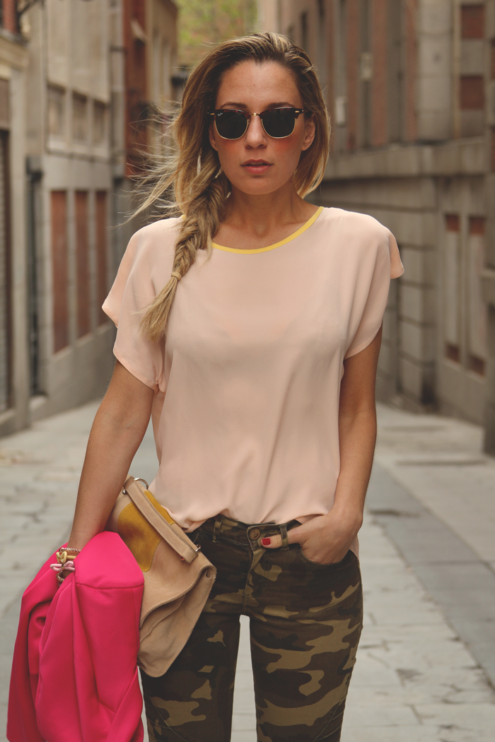 teenvogue, Priscila Betancort, Carlos Toun, MY SHOWROOM, blog de  moda, Bloggers, look con jeans, cute outfit, trend, Zara, Militar, poisson Bleu, Ray-Ban, clubmaster, LEFTIES, eBay, Ana Studio, Egus in Love,