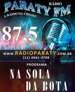 CURTA A RÁDIO PARATY FM  www.radioparaty.com.br