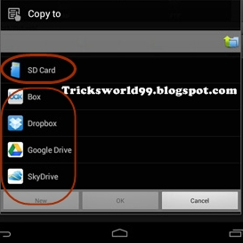 How to Manage Files between Different Cloud Storage In Android