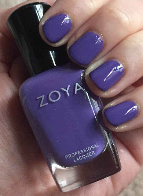 My 2015 in Nails, nail polish roundup, nail polish, nail lacquer, nail varnish, manicure, #ManiMonday, Zoya Serenity
