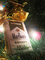 Cigarette Christmas Tree Ornament
