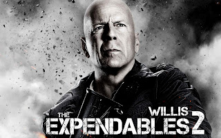 Bruce Willis The Expendables 2 Movie HD Wallpaper