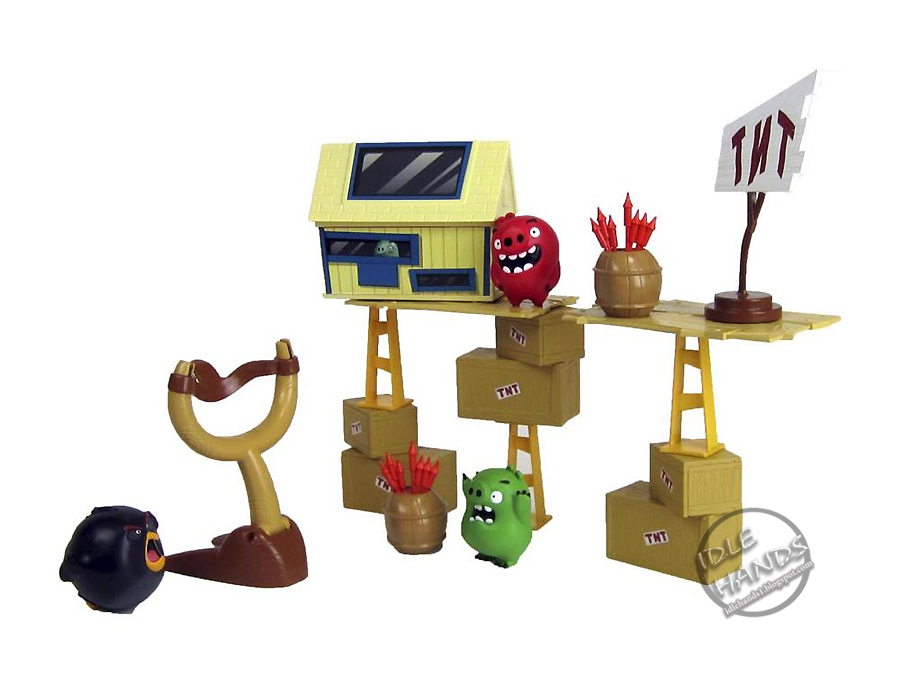 New Spin Toys : Idle hands toy fair spin master s angry birds ready