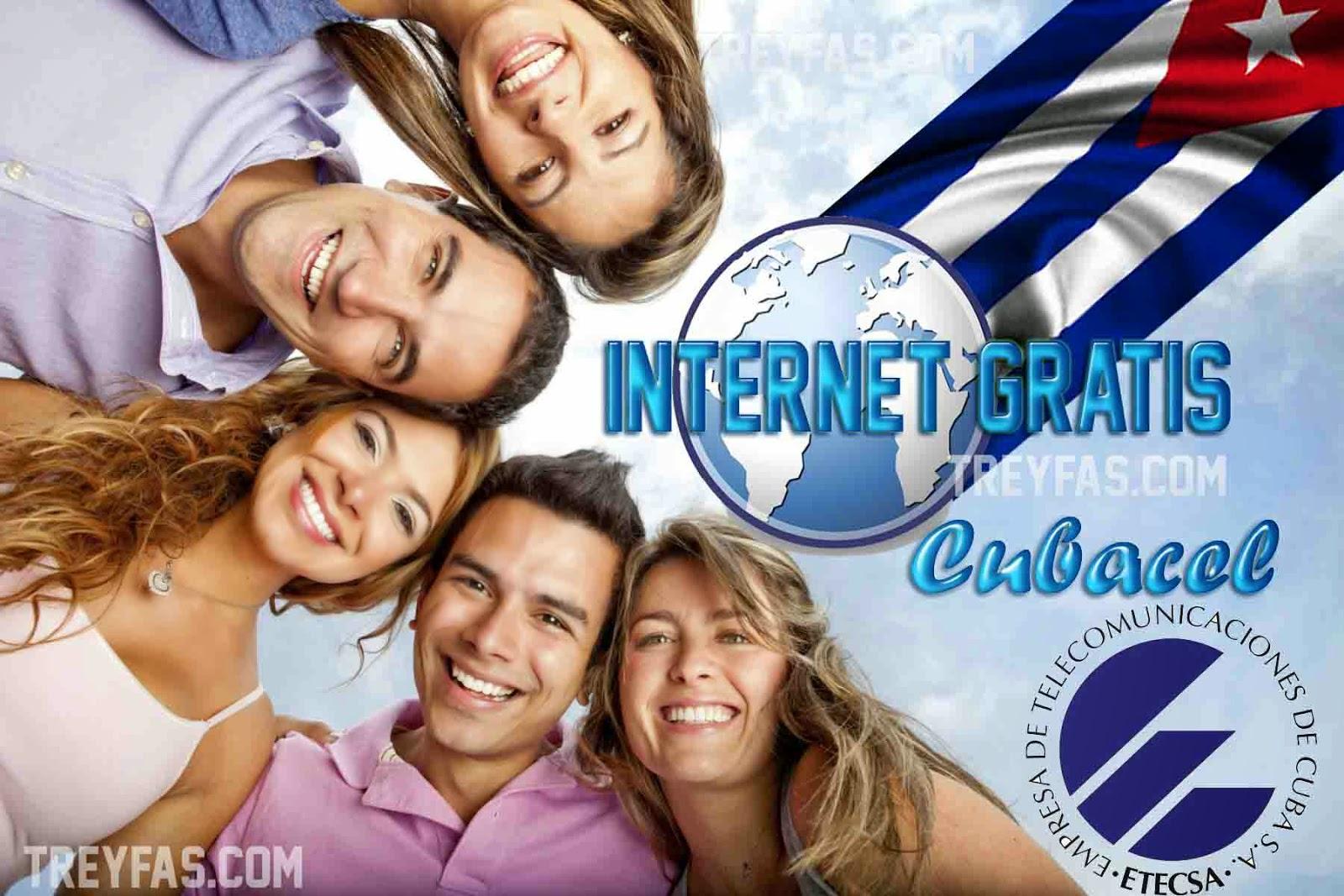 Internet gratis por Cubacel 2015