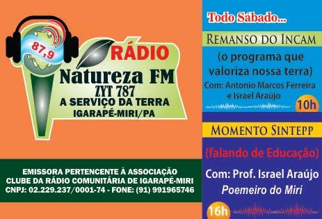 RÁDIO NATUREZA - FM 87,9