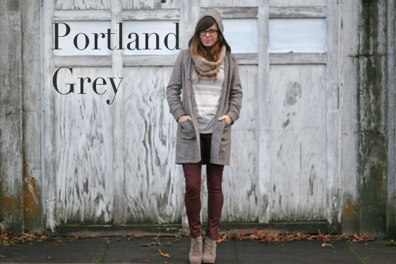 Portland is Grey by Jade Rose
