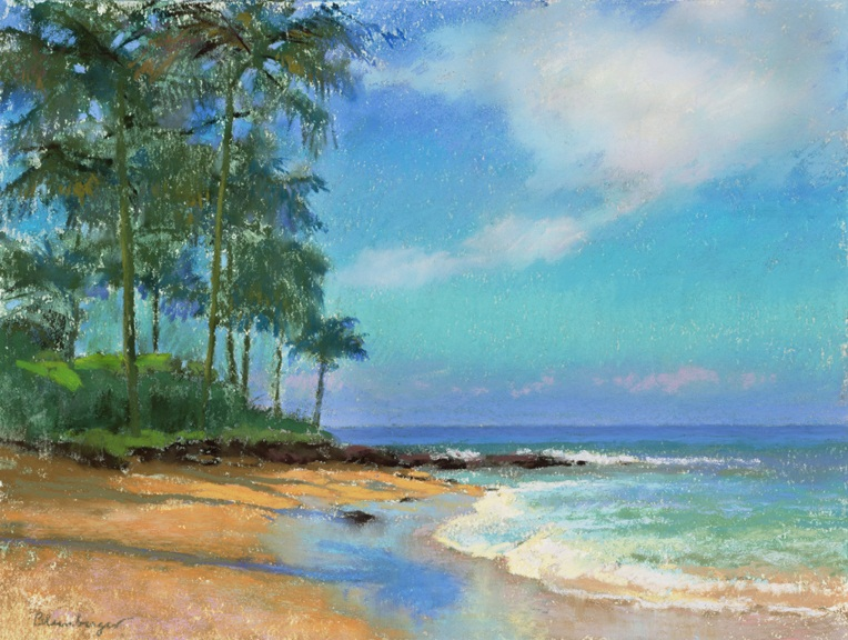 Hawaii, Beach Painting (Napili), Maui | Colleen Howe Bleinberger ...