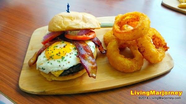 IHOP Sunrise Burger by MarjorieUy