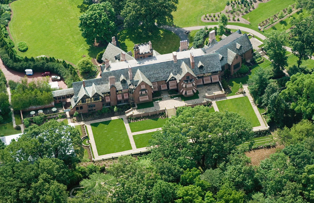 Roadtoparnassus stan hywet hall in akron ohio for Building a home in ohio