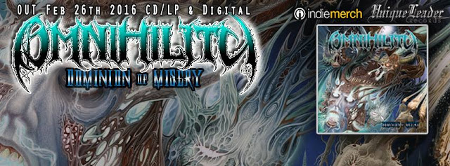 Detail from Omnihility New Album Dominion Of Misery, Dominion Of Misery, Omnihility, Omnihility Dominion Of Misery