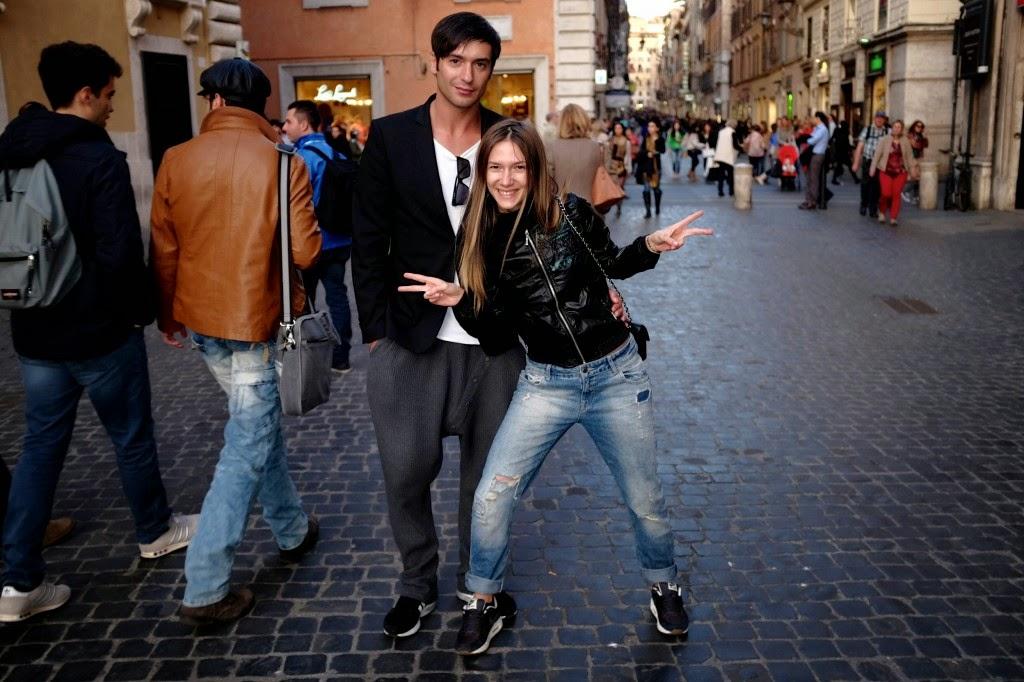 Poza zilei: Adela Popescu si Radu Valcan in vacanta