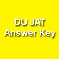 Delhi University JAT Answer Key 2015 Series Wise