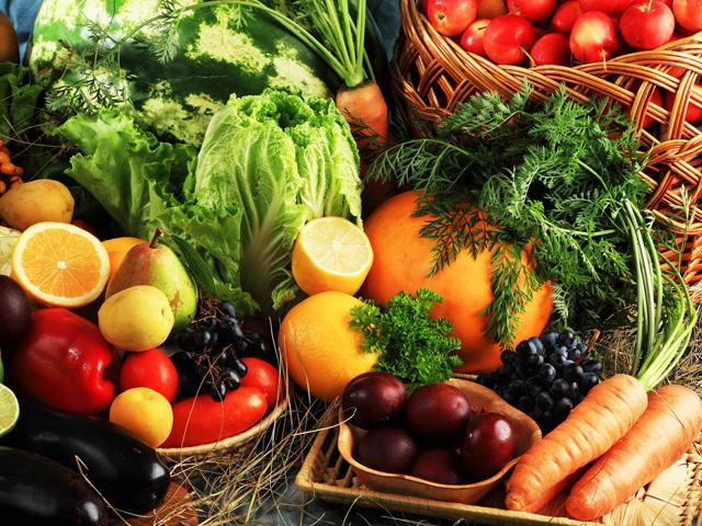 Legumes, verduras e frutas são fontes de carotenóides. Foto: Reprodução