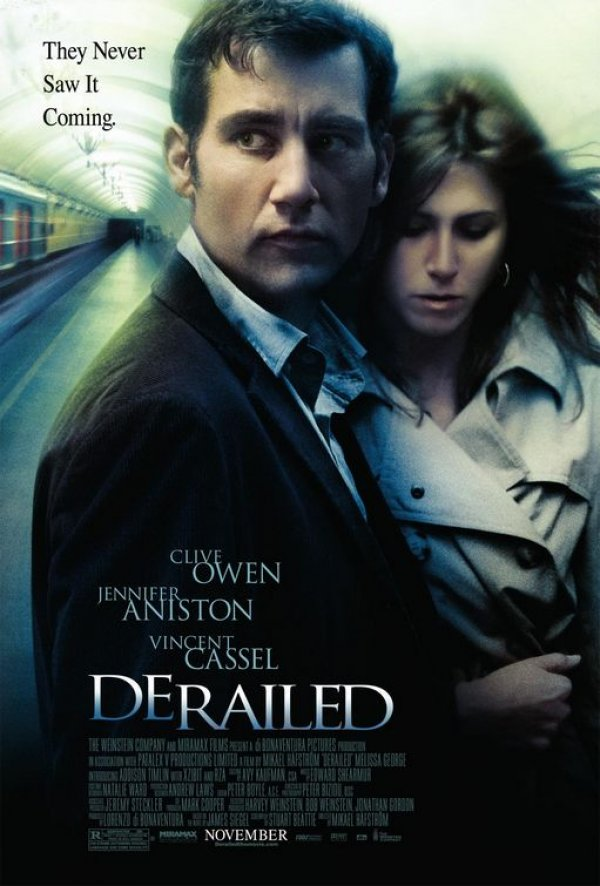 Starring: Clive Owen, Jennifer Aniston, Vincent Cassel, Melissa