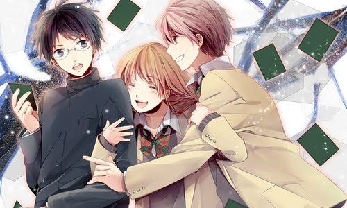flirting games romance girl anime movie