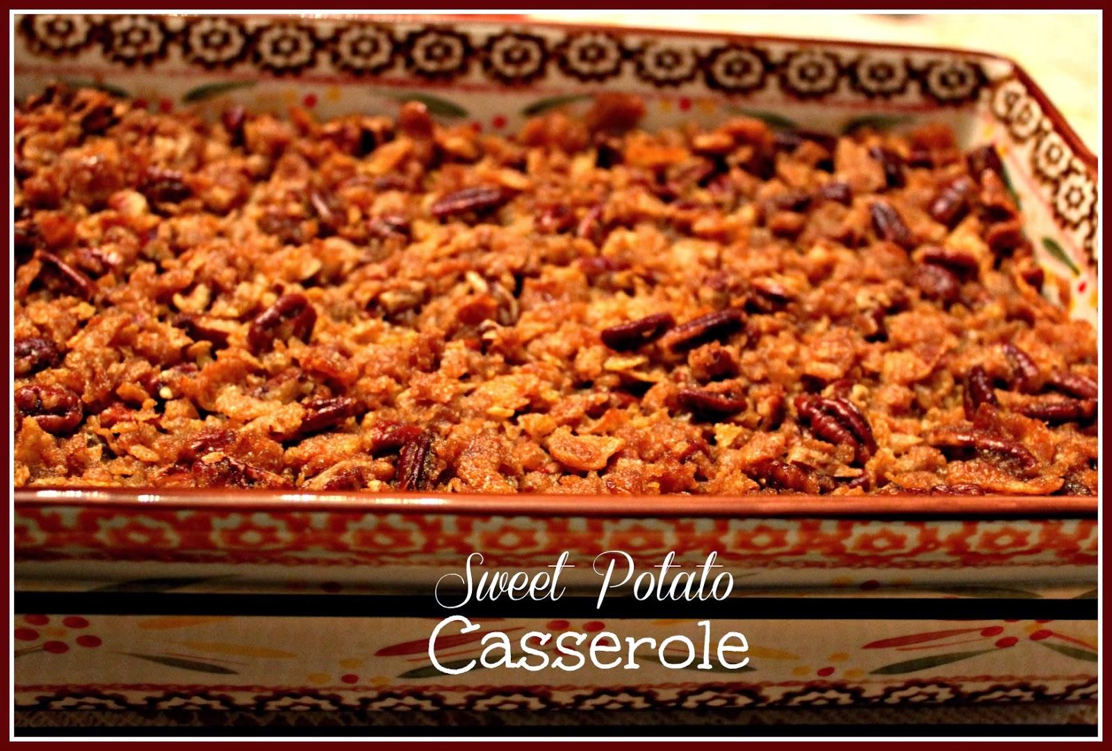 Sweet Potato Casserole!