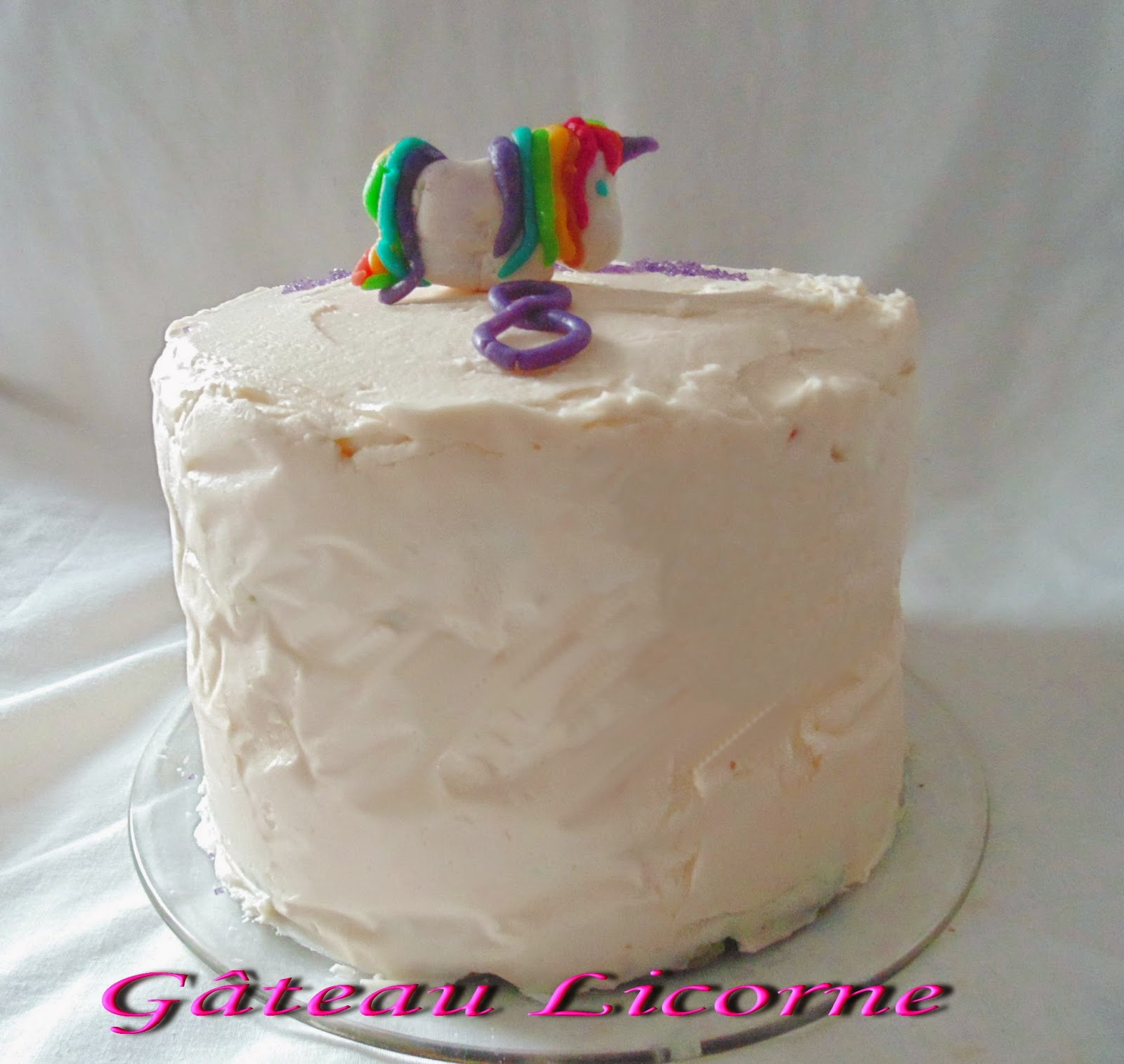 gateau gaga love cakes layers cake licorne. Black Bedroom Furniture Sets. Home Design Ideas