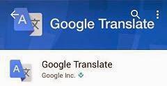 Tips Menggunakan Google Translate Dengan Kamera