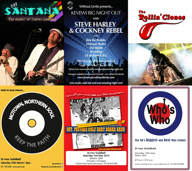 St Ives Guildhall - What's On - 2014
