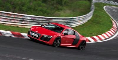 Record au Nurburging pour l'Audi R8 e-tron