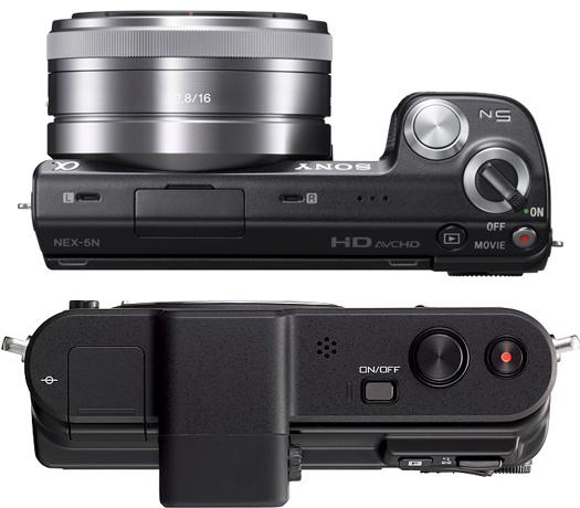 sony nex-5n vs nikon v1 camera