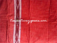 indonesian ethnic dress: Tenun Ikat Motif Hujan Gerimis