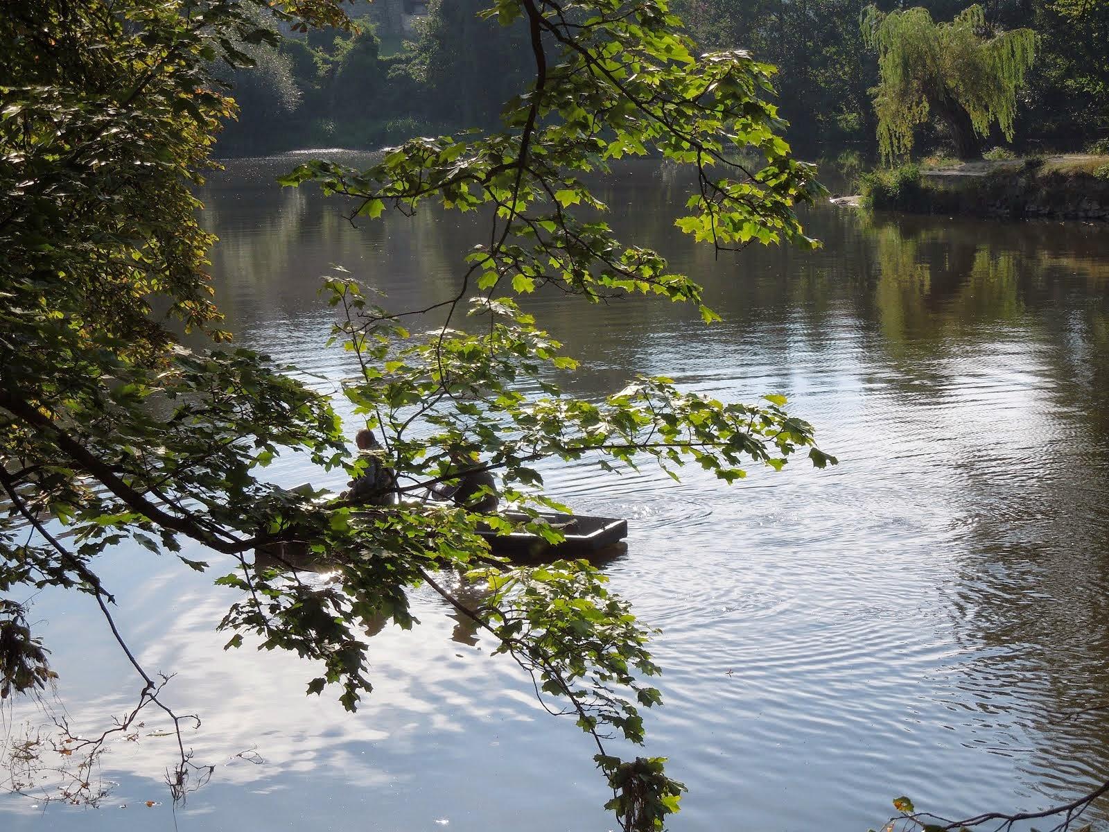 Na řece Otavě