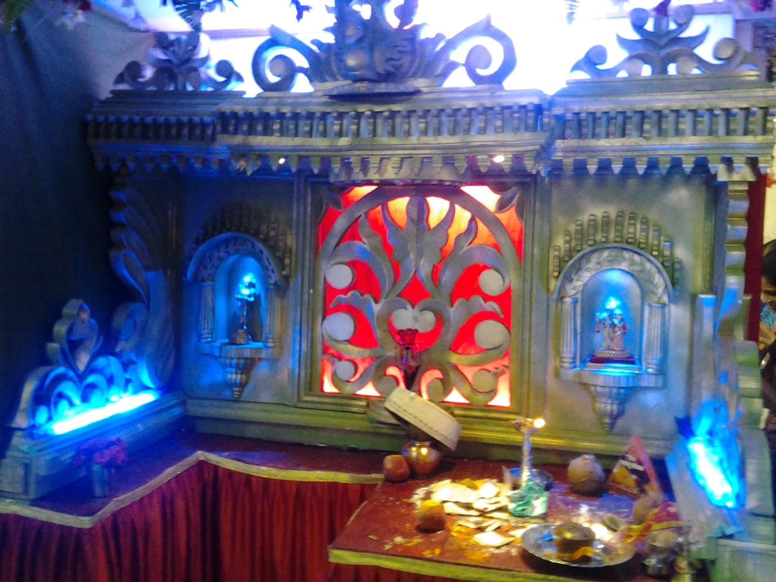 Varada Art: Ganapati Makhar And Decoration