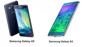 Samsung Galaxy A5 dan A3