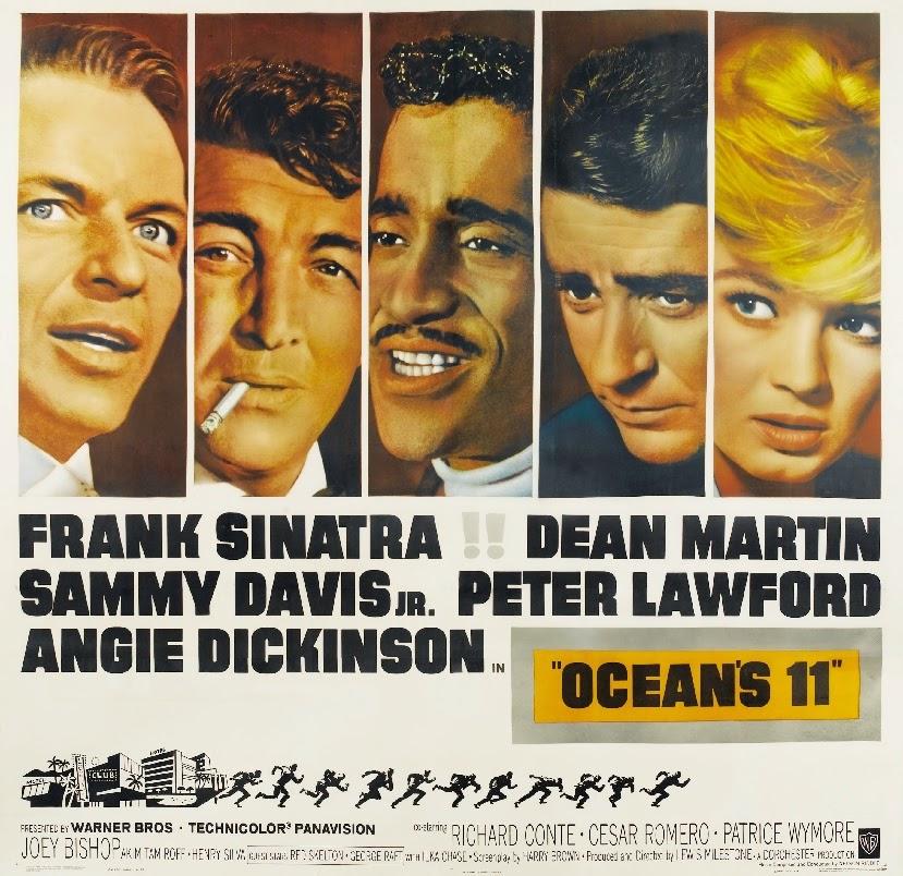 Classic Movie Ramblings: Oceanu2019s Eleven (1960)