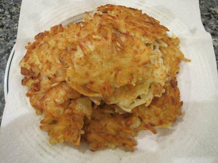 ... Everyday by Sharon Matten: Hash Brown Potato Latkes - Revisited