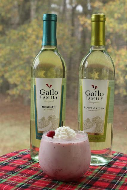 cranberry, panna cotta, dessert, wine pairing, moscato, pinot grigio