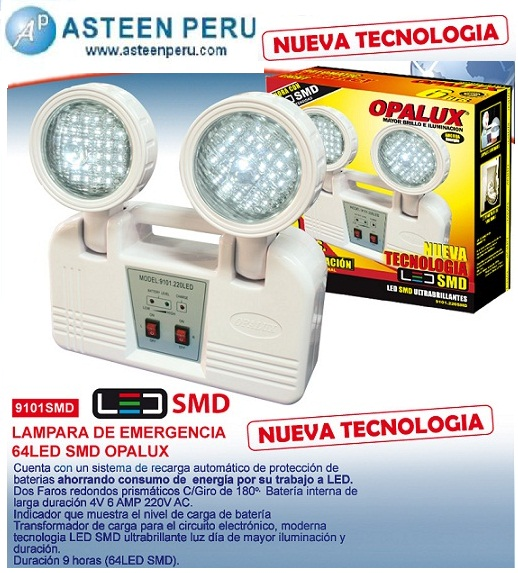 Productos asteen peru sac - Luz de emergencia precio ...