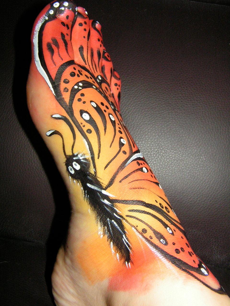 Butterfly Foot
