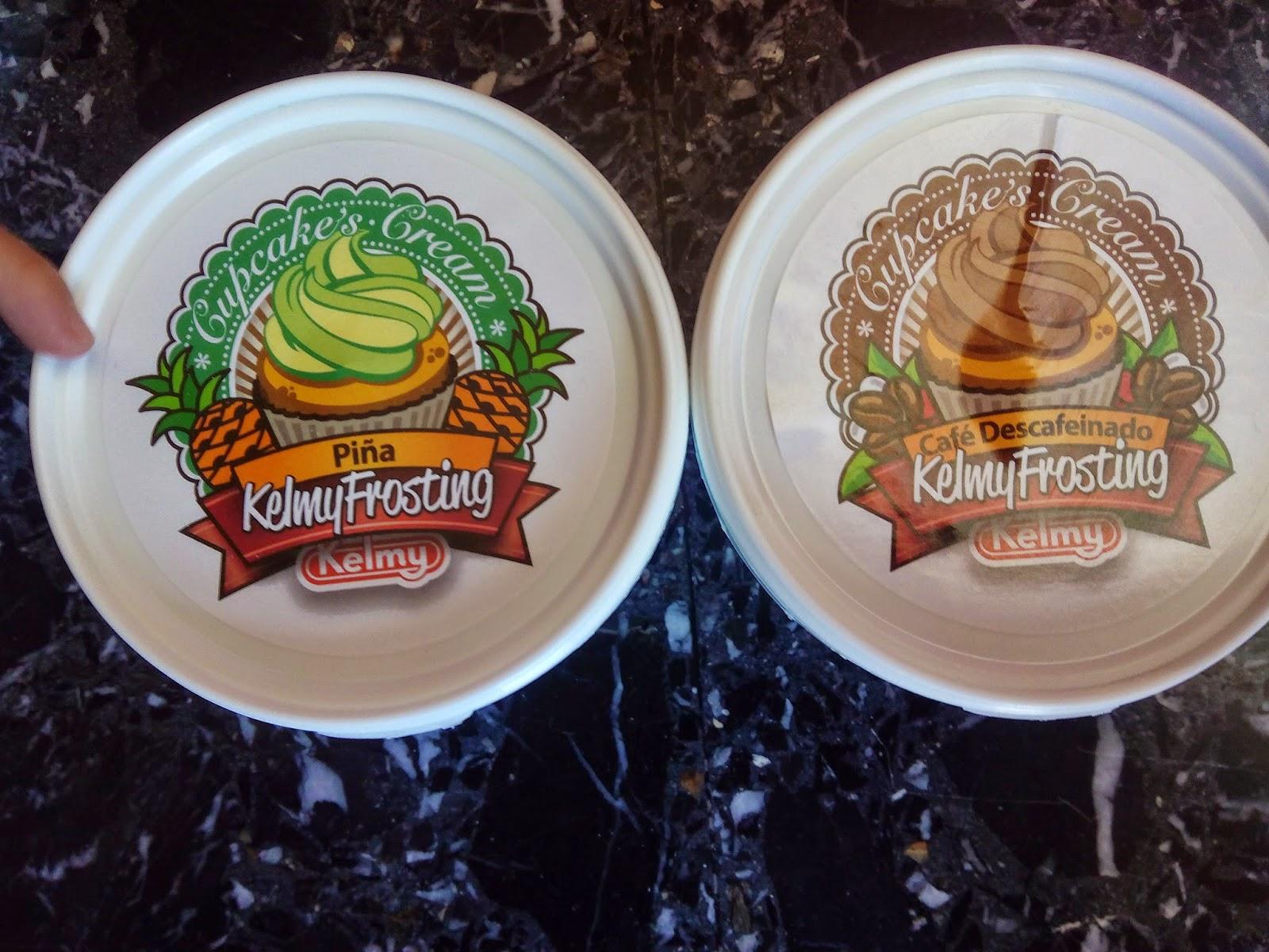 Frosting de piña y café descafeinado