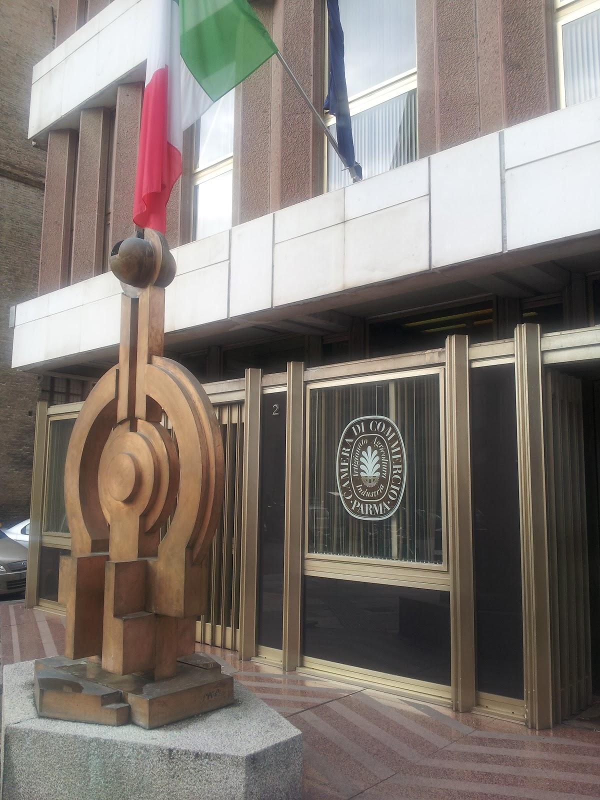 Esterno sede Camera di Commercio di Parma