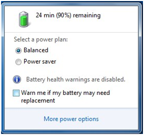 Warn Me If Battery May Need Replacement