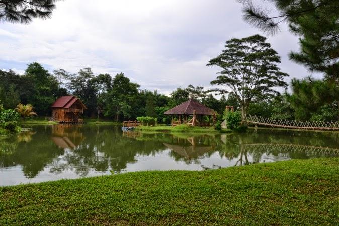 Tempat Outbound Sentul, Talaga Cikeas
