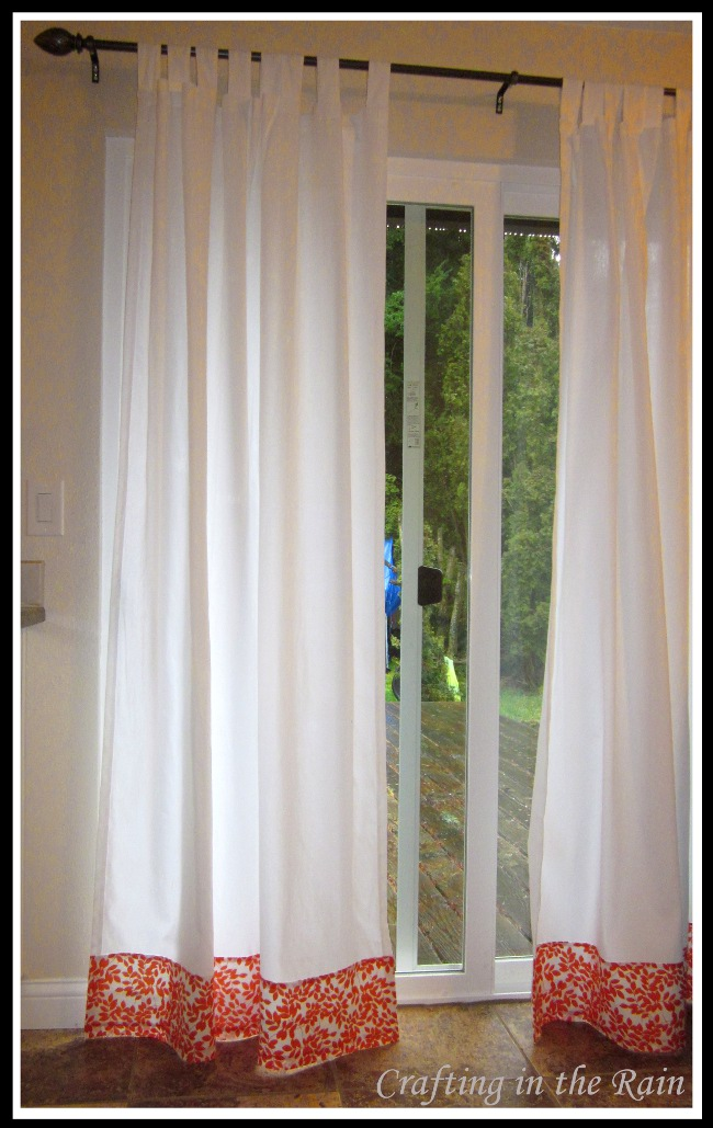 Easy Curtain Fix Crafting In The Rain