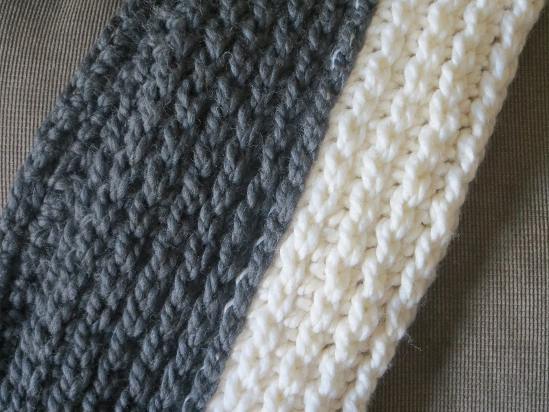 Free Knitting Pattern For Chunky Infinity Scarf : Crochet Dreamz: Chunky Infinity Scarf Crochet Pattern, Knit Look Crochet Scar...