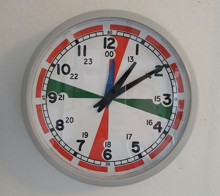 Radio Room Clock - Home Made